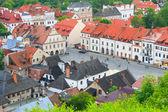 Aerial view, Kazimierz Dolny, Poland — Stock Photo