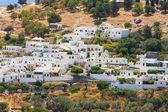 Panorama of Lindos. Rhodes, Greece.  — ストック写真