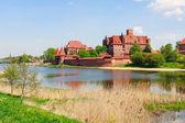 Castelo de Malbork, região Pomerânia, Polônia — Fotografia Stock