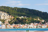 View of the city and harbor Zakynthos, Greece — Foto de Stock