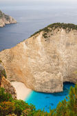 Shipwreck Bay,Navagio Beach,  Zakynthos, Greece — Stock Photo