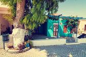 Greek town, vintage look — ストック写真