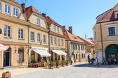 Sandomierz, Poland - MAY 23: Sandomierz is known for its Old Town, which is a major tourist attraction. MAY 23, 2014. Sandomierz, Poland.  — Stok fotoğraf