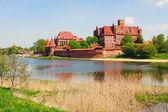 Malbork castle, Pomerania region, Poland  — Stockfoto