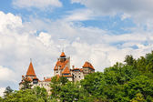 Medieval Castle of Bran also known for the myth of Dracula.  — 图库照片