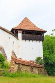 Viscri, saxon fortified church, Transylvania, Romania — Stock Photo