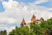 Medieval Castle of Bran also known for the myth of Dracula.  — Stock Photo