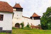 Viscri, saxon fortified church, Transylvania, Romania — Стоковое фото