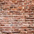 Stock Photo: Background of brick brown wall