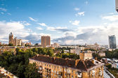 Panoramic view of Kiev — Stock Photo