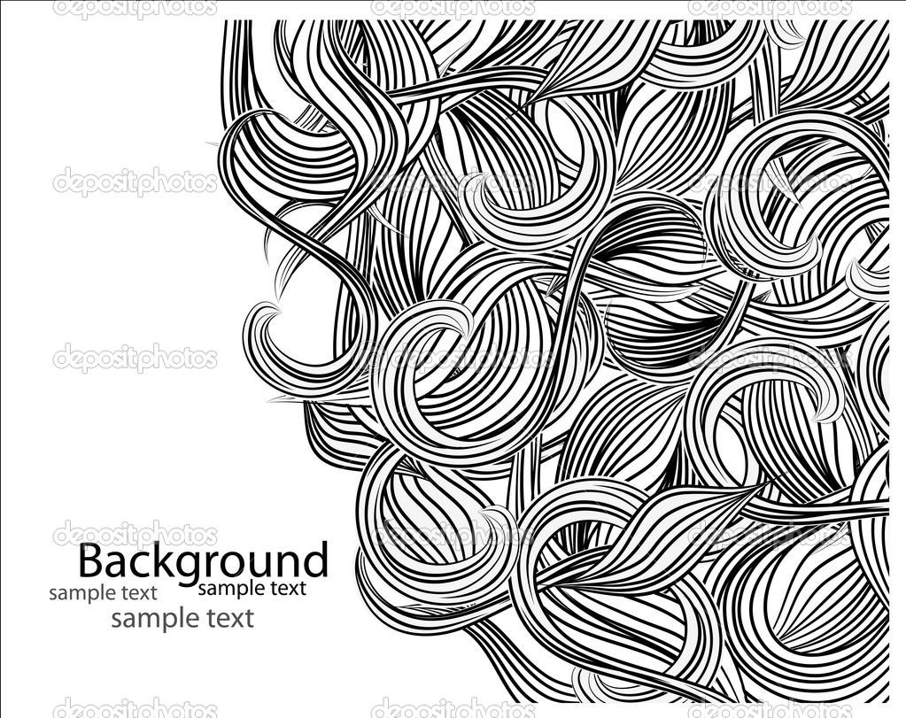 Открытки с графикой черно-белой 66