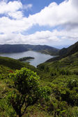 Lagoa do Fogo in Azores — Foto de Stock