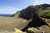 The cape of capelinhos.Faial.Azores — Stock Photo