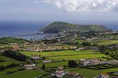 The view of Horta Bay, Faial — Stock Photo