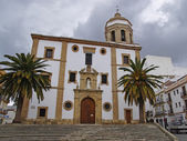 The church in the Ronda City — Stock Photo