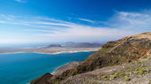 La Graciosa island view from Lanzarote — Stock Photo