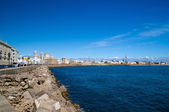 The coast of Cadiz Spain — Stock Photo