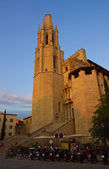 The Girona Cathedral, Catalonia, Spain — Stock Photo