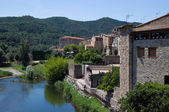 Besalu town in Catalonia, Spain — Stock Photo