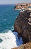 Cabo de Sao Vincente, End of Europe, Algarve, Portugal — Stockfoto