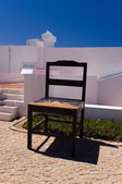 Giant chair in the courtyard of Lighthouse — Stockfoto