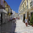 The center city of Faro, Algarve Capital, Portugal — Stock Photo