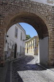 The arc in center city of Faro, Algarve Capital, Portugal — Stock Photo