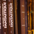 Stock Photo: Shelf with books fantastic literature