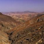 View from the Mirador Montana Cardones. Fuerteventura - Canary Islands - SpainView from the Mirador Montana Cardones. Fuerteventura - Canary Islands - Spain — Stock Photo