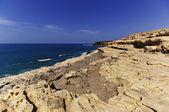 Cliff coast at Ajuy - Fuerteventura — Stock Photo