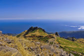 The mountain ranges of the Madeira island , Portugal — Stock Photo