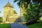Medieval castle in Bedzin, Poland — Stock Photo