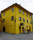Sighisoara, The house where Vlad Tepes-Draculea was born. Transylvania, Romania — Stock Photo