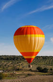 Hot air ballon — Stock Photo