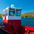 Red tug boat — Stock Photo