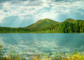 Fulton chain lakes,adirondack state park — Stock Photo