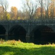 Nine mile creek aqueduct — Stock Photo
