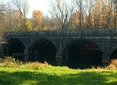 Nine mile creek aqueduct — Stock Photo
