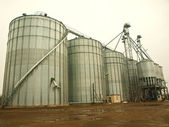 Industrial silos — Stock Photo