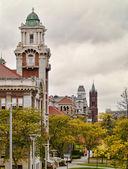 Syracuse university hill — Stockfoto