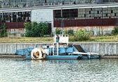 Floating machinery — Stock Photo
