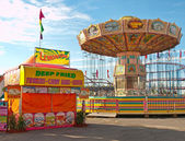 Midway at a fair — Stock Photo