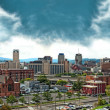 Stock Photo: Syracuse, new york panorama