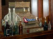 Old time cash register — Stock Photo