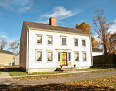 Georgian colonial house — Stock Photo