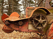 Oude rusing ploeg, close-up — Stockfoto