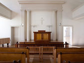 Church interior — ストック写真