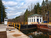 Erie canal — Stock Photo