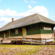Old train depot — Stock Photo