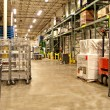 Warehouse recieving area — Stock Photo